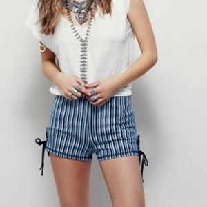 Free People To Be Loved High Rise Shorts